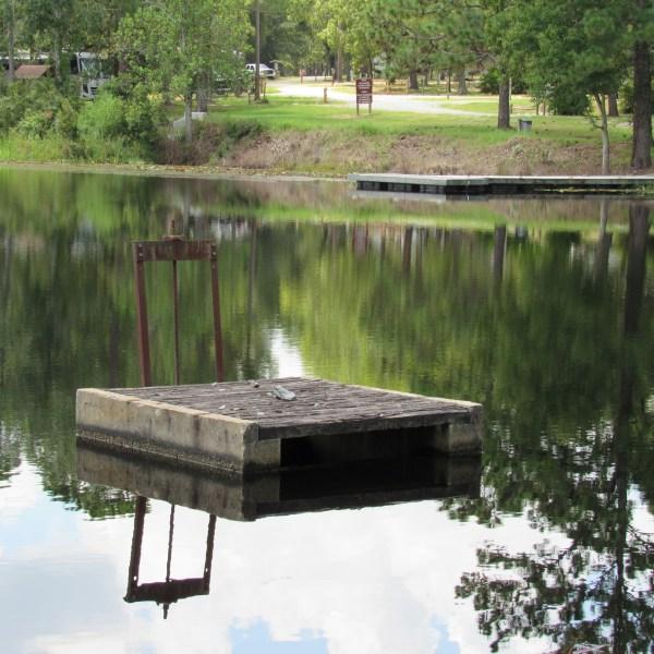 lake overflow drain