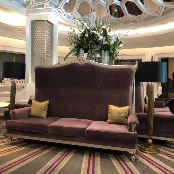 Graceland hotel lobby