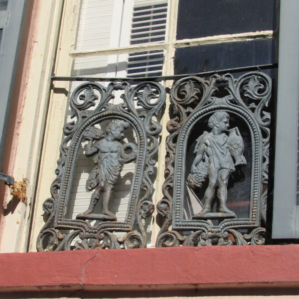Antique window guard