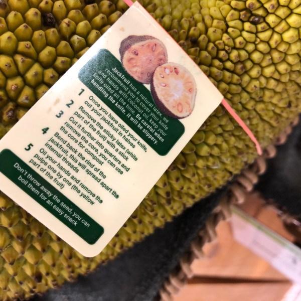 Jackfruit instructions