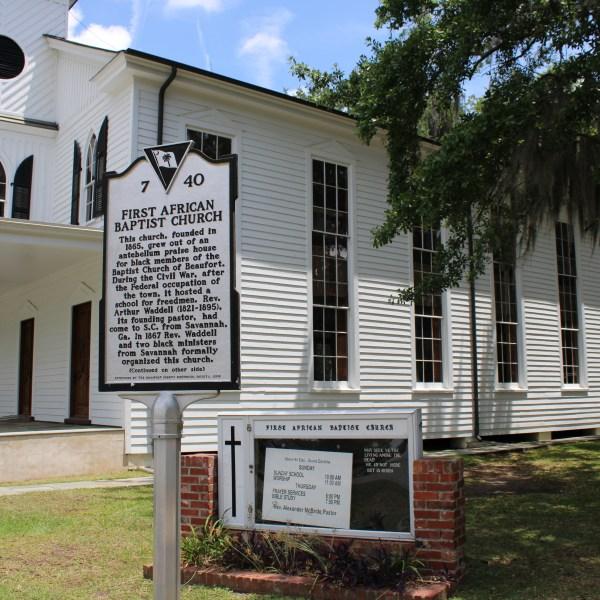 First African Baptist Church Historic Marker