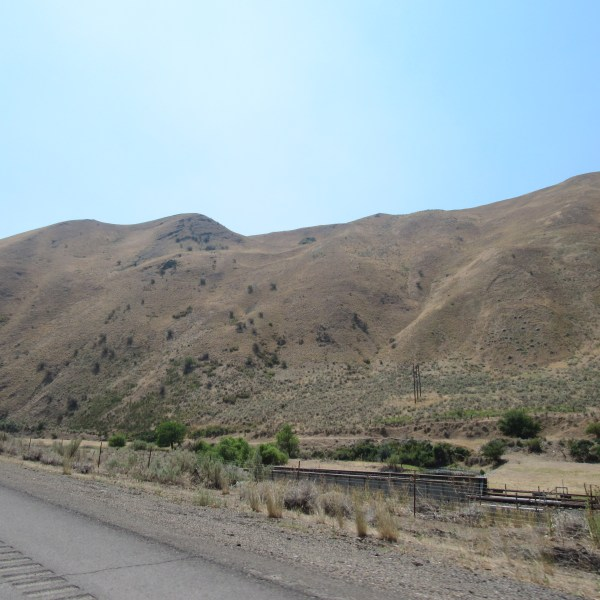 Idaho mountain train
