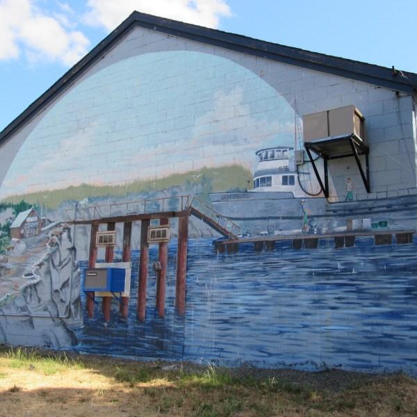 Olympia Mural