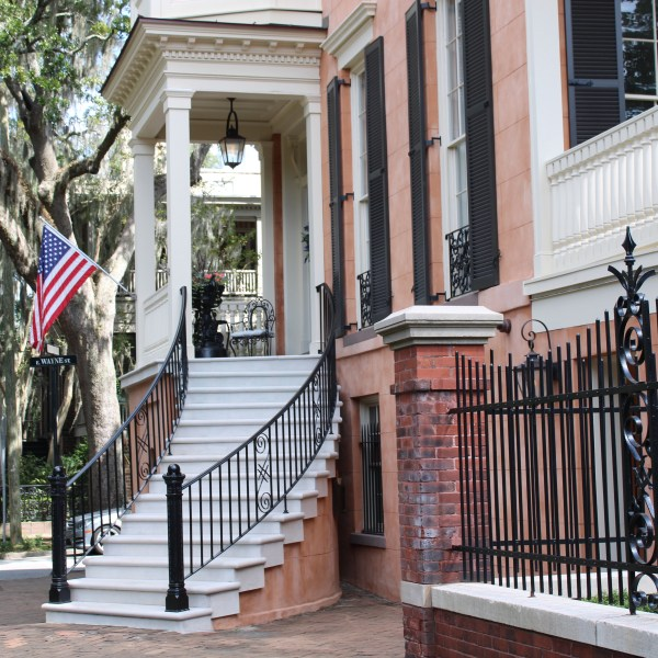 Savannah brick walkways