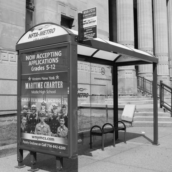 NFTA Bus Shelter