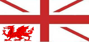 New British Flag Without Scotland In The Union