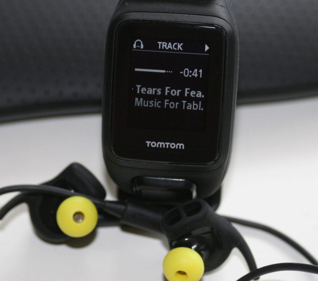 TomTom Runner 2 Spark Cardio Music - Pairing Headphones