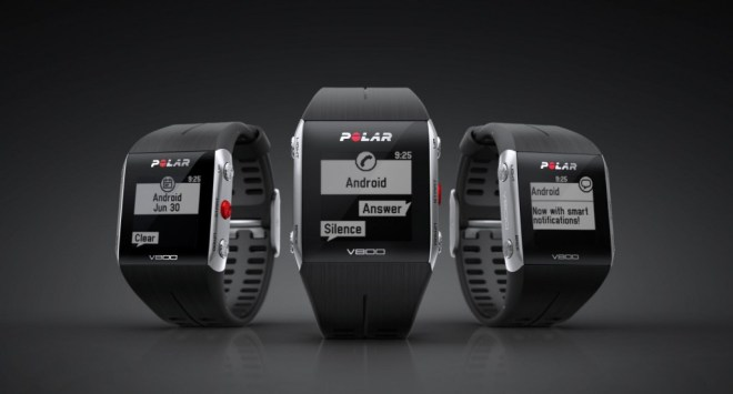 Polar v800 iOS and Android Smart Notifications