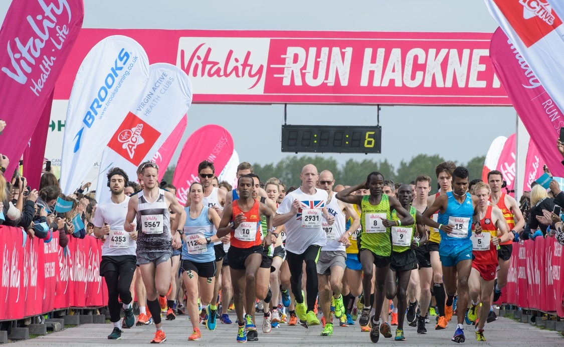 Vitality Hackney Half Marathon 2015