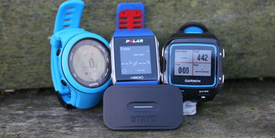 STRYD: Garmin 920XT, Suunto AMBIT 3 SPORT, Polar V800 Best Triathlon Watch Garmin 945 Sigma id.TRI Polar Vantage
