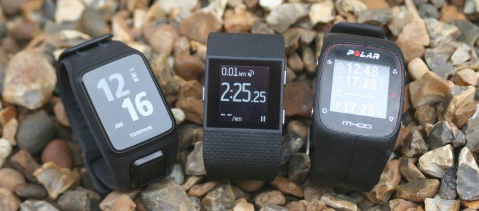 Fitbit Surge, Polar M400, TomTom Runner2 SPARK