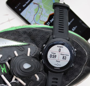 Garmin 935 STRYD, STRYD Review, STRYD Power Meter, Footpod