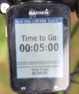 Garmin Edge on the wahoo kickr kickr17 smart trainer review