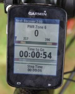 Garmin Edge on the wahoo kickr kickr17 smart trainer review