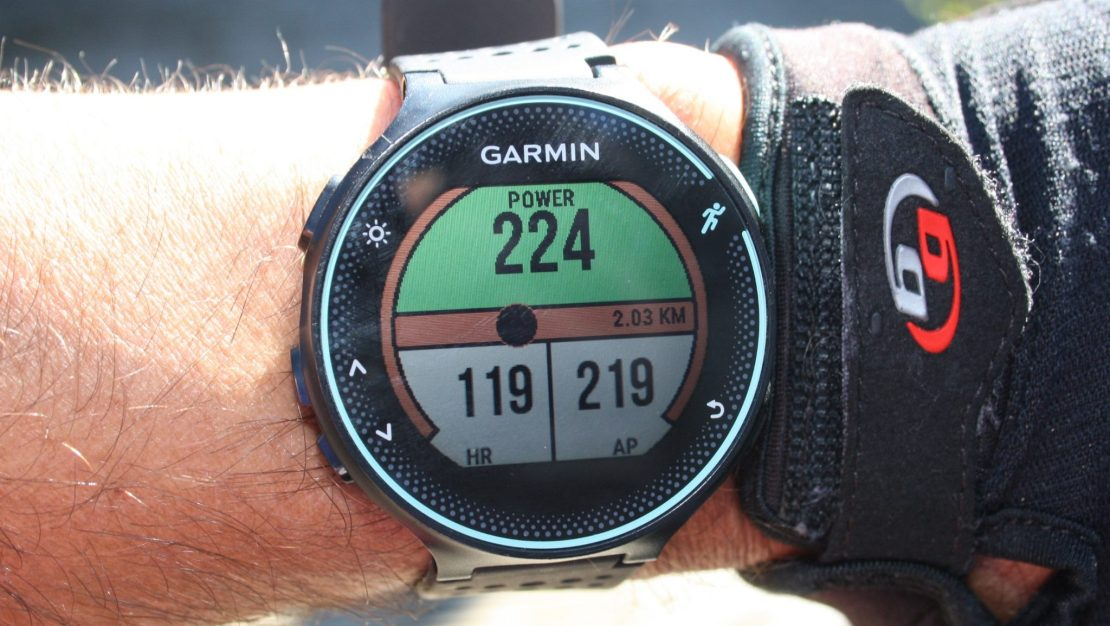 stryd powerrace app garmin 235