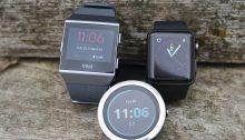 Fitbit Ionic Garmin Vivoactive 3 Apple Watch