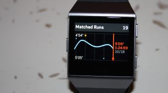 fitbit ionic review strava app