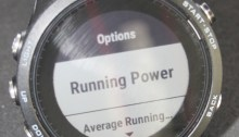 Running Power Garmin 935