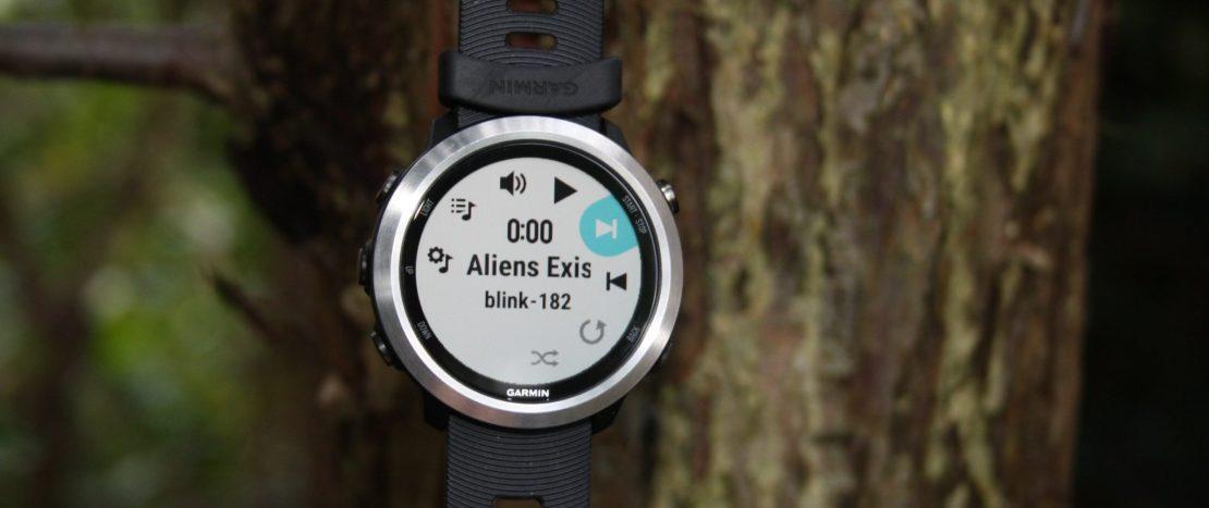 Best running watch with music Garmin Forerunner 645 Music