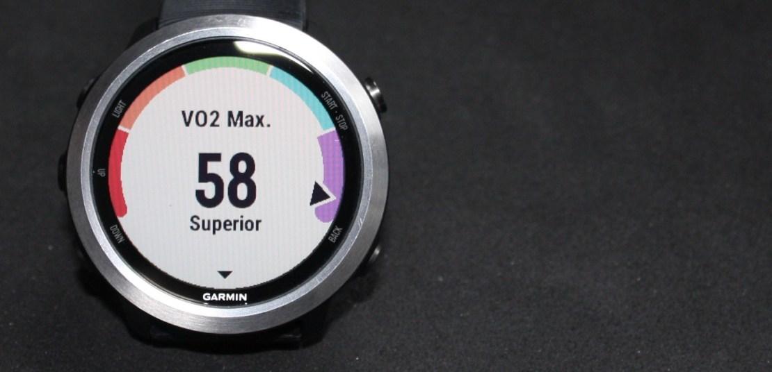 VO2max Forerunner 645