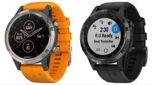 Garmin Fenix 5 plus specifications review details