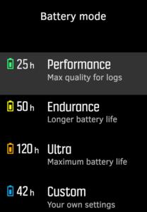 Suunto 9 Review Intelligent-Battery-Modes-Suunto-9