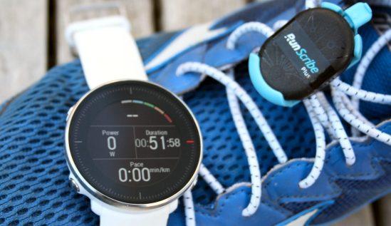 Polar Vantage M Review RunScribe Plus