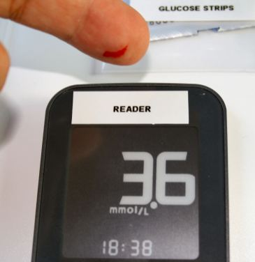 Glucose 95 minutes