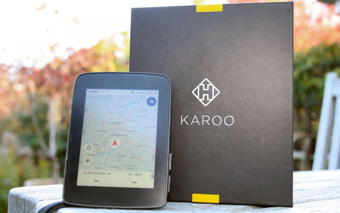 Hammerhead Karoo Review bikenav navigation