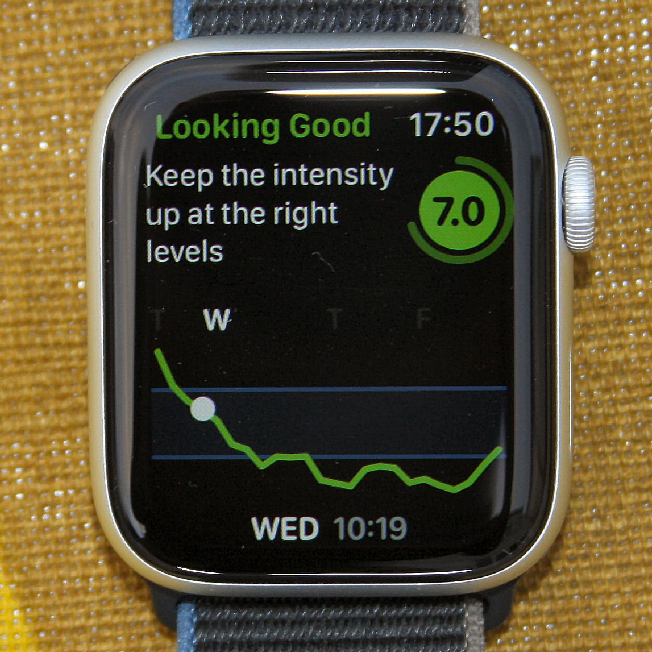 Training today app apple watch 6 readiness to train