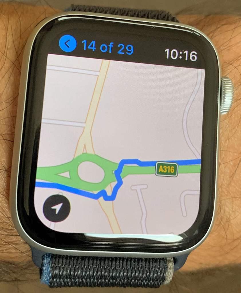 STRAVA app | Apple Watch Series 6