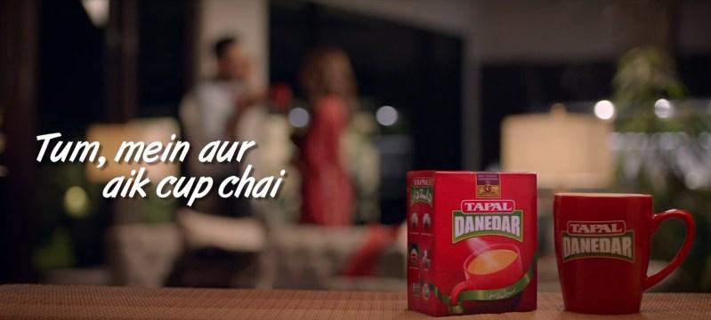 Tapal Danedar TVC Tum mein aur aik cup chai.