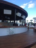 Ocean Beach bar on a slightly cloudy moment