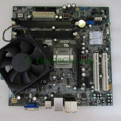 Dell Inspiron 530 Motherboard Diagram 1995 Ford F150 Front Suspension Pci Slots Best 530s Bare Bones System Case Power Supply Included Mainboard Part