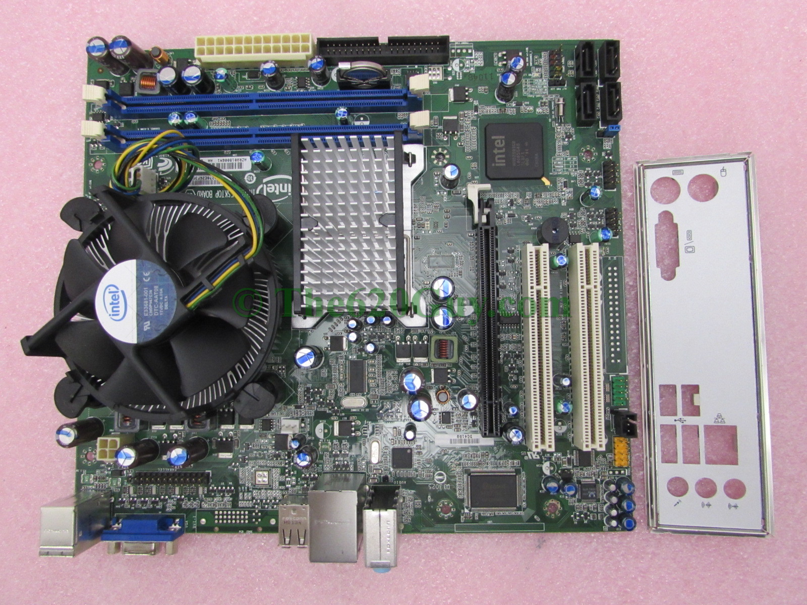 Intel DG41RQ Desktop Motherboard D33025 + Pentium Dual Core E5300 2 6GHz  CPU+Fan - The620Guy com
