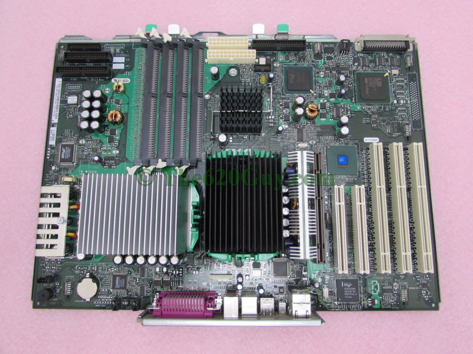 DELL PRECISION  WORKSTATION 650 MOTHER BOARD  DUAL CPU SOCKET F1262 02K812