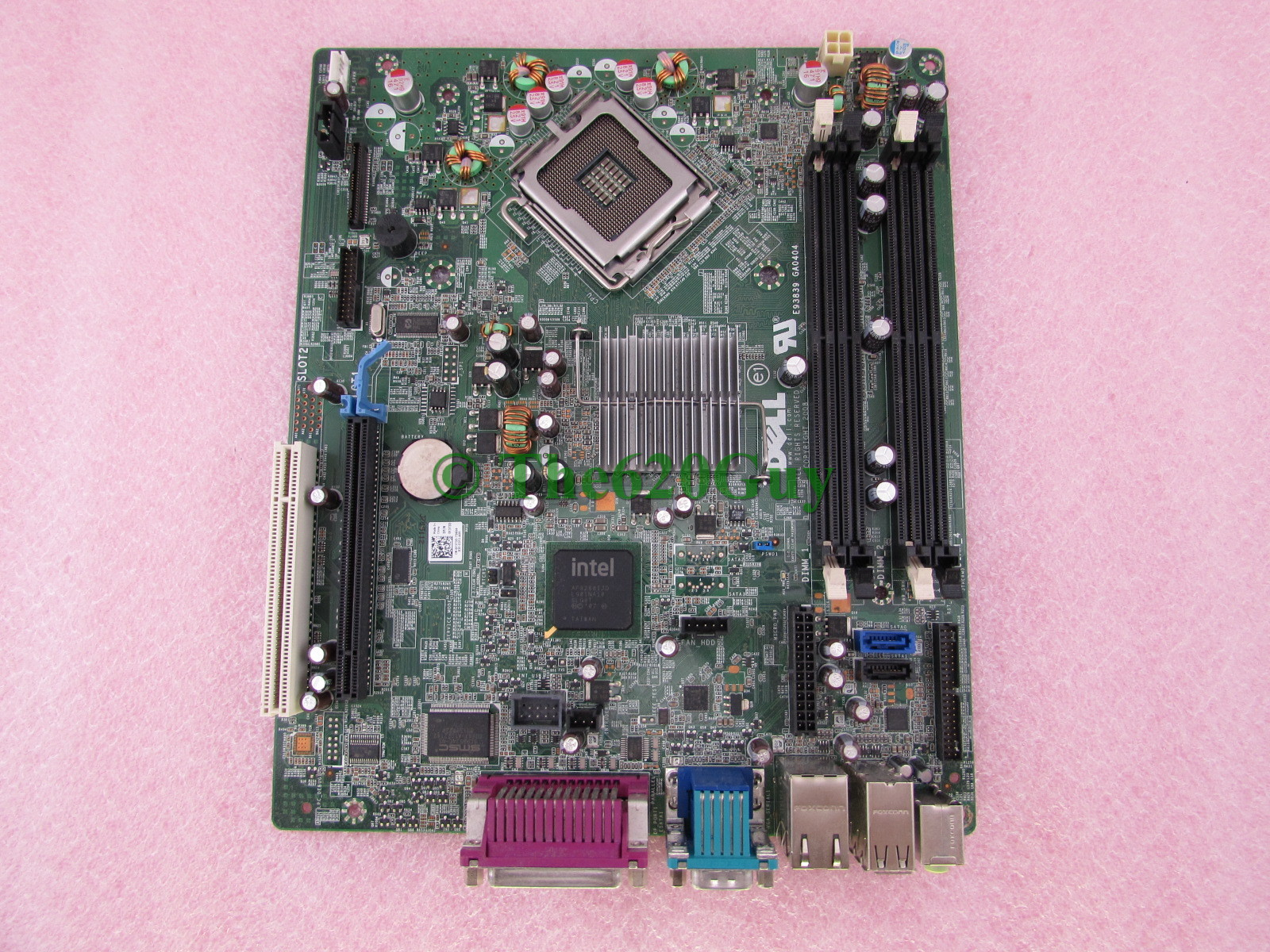 Dell Optiplex 760 Small Form Factor Motherboard System