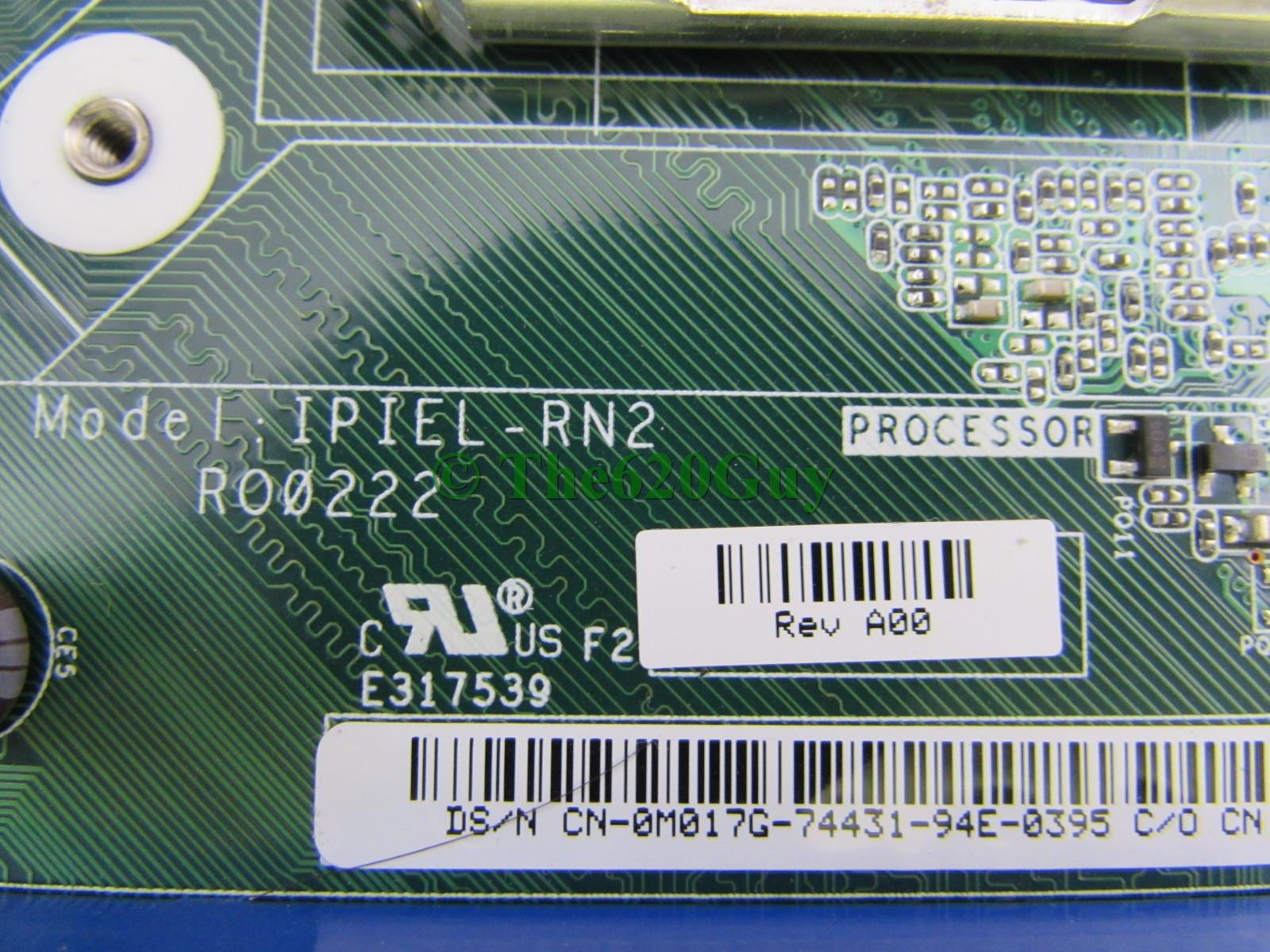 Dell Studio 540 Ipiel Rn2 A00 Socket 775 Intel G45 Motherboard M017g Procesor Quad Core Q8200 Soket