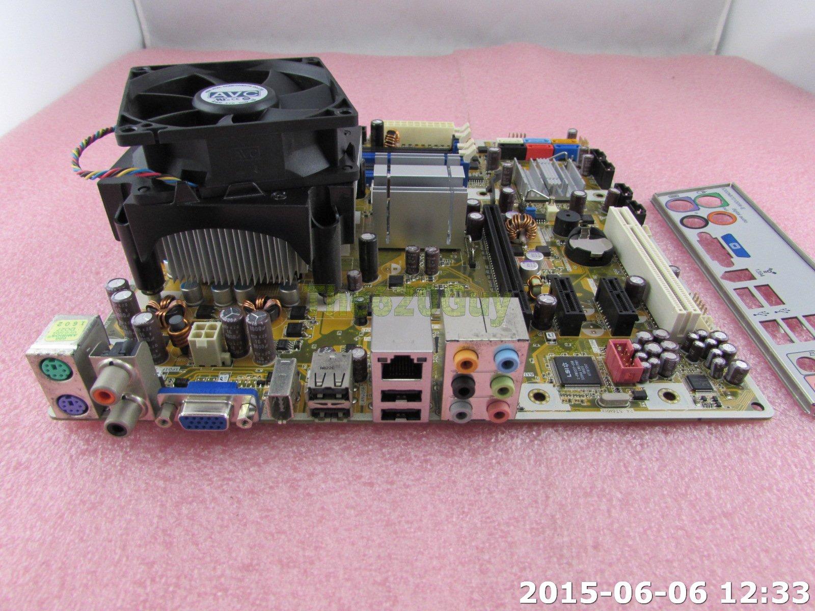 HP Benicia 492774-001 Asus IPIBL-LB Motherboard + Core 2 Quad Q6600 2.4Ghz CPU   eBay