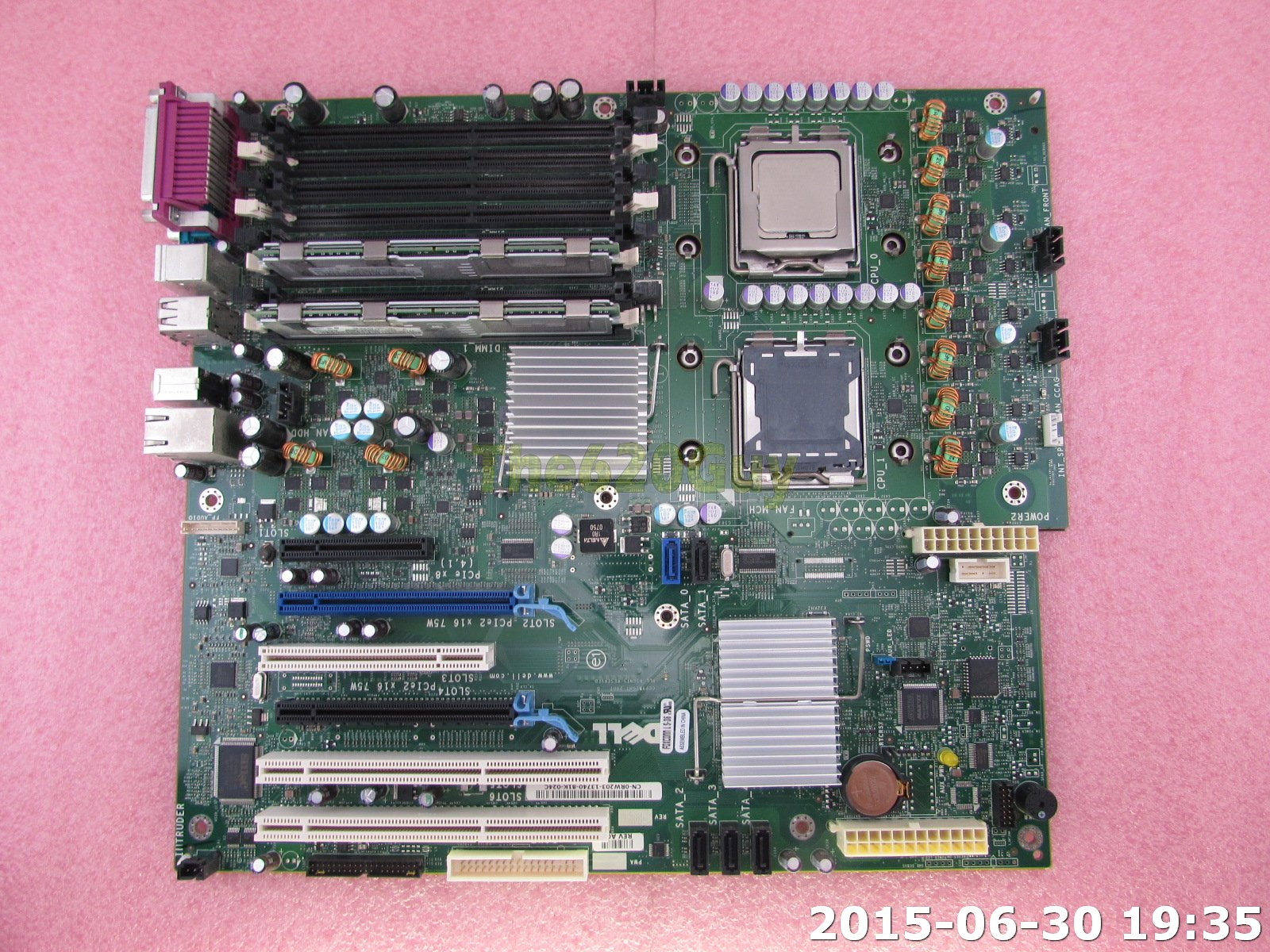foxconn ls 36 motherboard diagram telephone 110 block wiring dell prescision t5400 rw203 xeon 2 5ghz cpu 2gb the620guy com