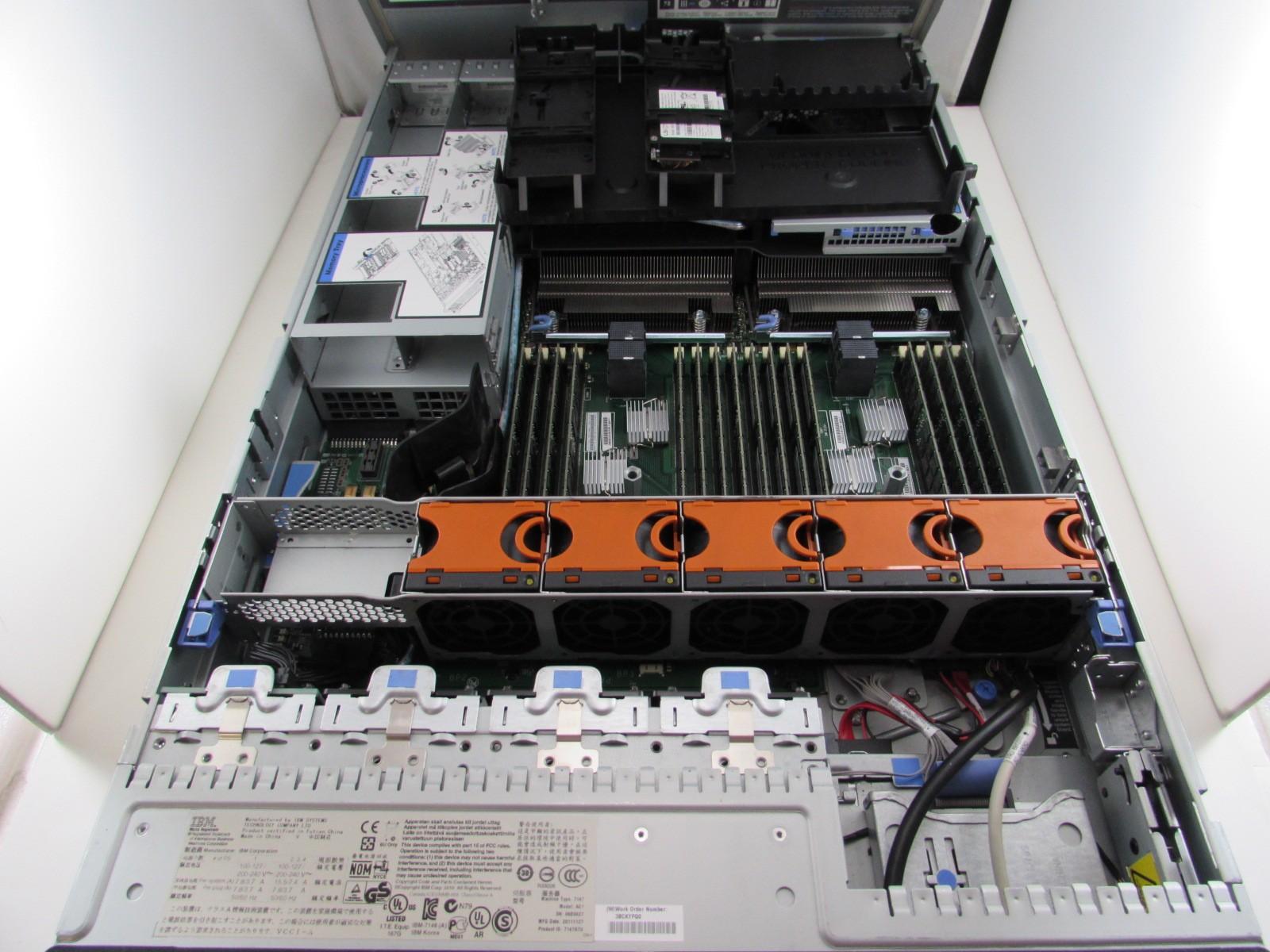 Ibm System X3690 X5 Server 7147 Ac1 2x E7 2870 2 4ghz 10