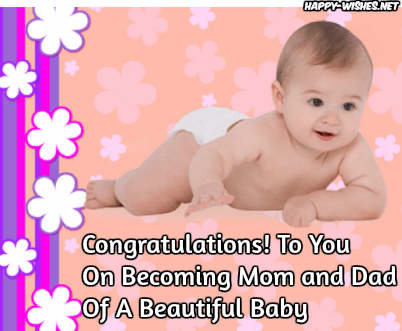 newborn baby congratulations wishes