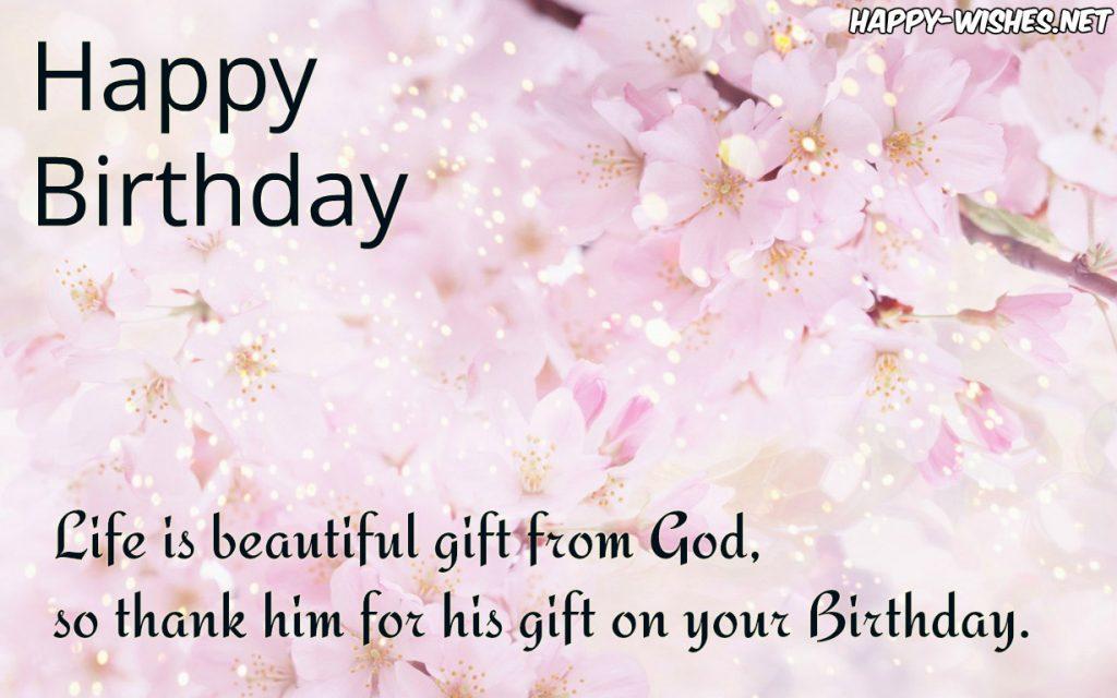 christian birthday wishes religious