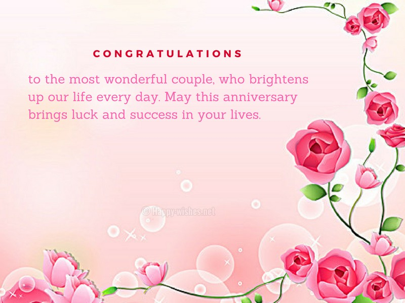 anniversary wishes for son