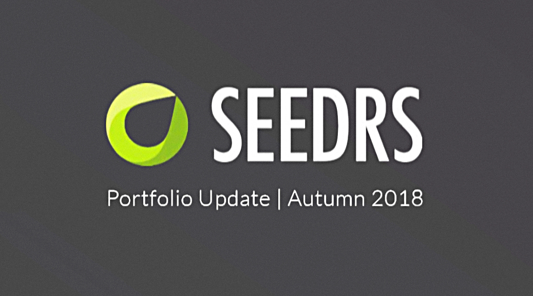 Seedrs Portfolio Update - Autumn 2018