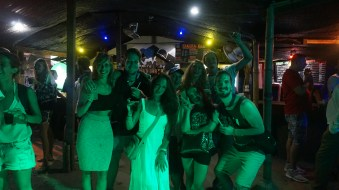 Spot the only Asian in the bar! lol!