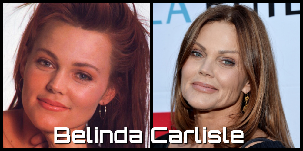 belinda carlisle then and now
