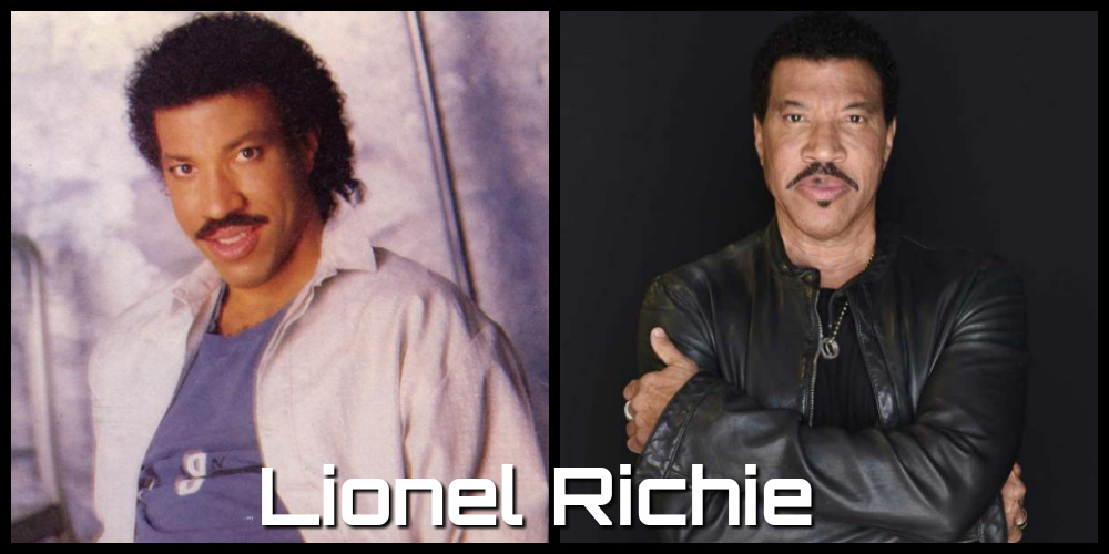 lionel richie then and now