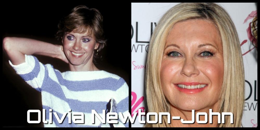 olivia newton john then and now