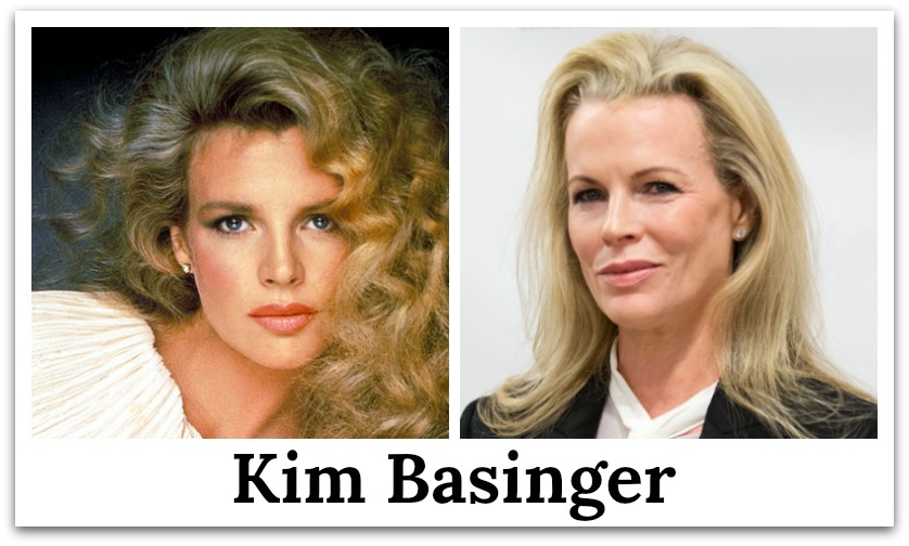 kim basinger then and now